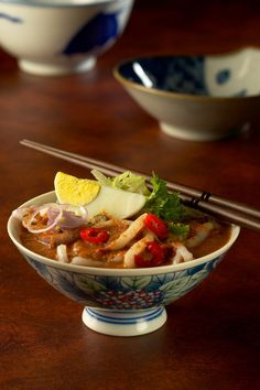 Assam Laksa Penang (Laksa Asam Penang) Malaysian Cuisine, Malaysian Food, Laksa, Asian Style, Soul Food, Food And Drink, Cooking Recipes, Favorite Recipes, Ethnic Recipes