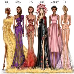 Illustration.Files: MET Gala 2015 Fashion Illustrations by Shamekh