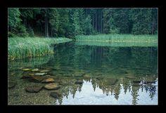 Vrbické lake, Slovakia. It's a glacial lake in the low Tatras mountains.