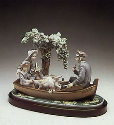 LLADRO - ON THE LAKE (B)