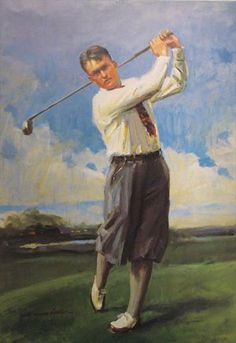 Bobby Jones was one of the greatest golfers ever. He totally dominated his sport in the 1920s.