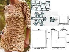 Gratis #haakpatronen shirts en truien | Gratis haakpatroon | Haakpatroon | Free Crochet