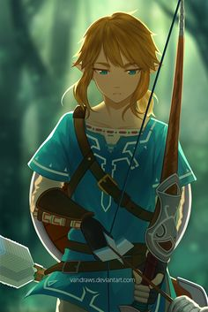 The Legend of Zelda - Breath of The Wild by vandraws