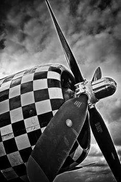 black and white plane | DWPhotoworks | Black and White/Toned | P-47 Thundwerbolt