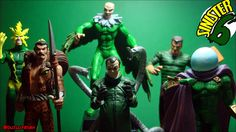 https://flic.kr/p/DDXuFV | Sinister Six -Electro, Kraven, Vulture, Dr. Octopus, Sandman and Mysterio! | Classic Marvel Figurine Collection - Eaglemoss