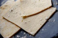 Pâtes fraîches à l'orge mondée (tagliatelles, nouilles ou lasagnes) IG Bas