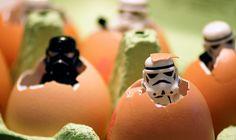 LEGO Mini-Figures - Birth of Storm Trooper #lego #mini-figure #stormtrooper