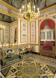 Casa del Labrador. Es un palacete neoclásico, que se encuentra en Aranjuez. Fue concebida como un lugar de recreo y está considerada como el proyecto más personal del rey Carlos IV. Las obras dieron comienzo en el año 1790 y se prolongaron hasta 1803. Boudoir y toilet