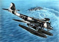 Heinkel He-115 by Stanislav Hajek.