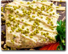 salad olivieh, persian iranian food recipe - used to make this often. Very tasty!..............Lots of yummy recipes here...