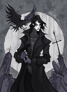 Image from http://img08.deviantart.net/5d9a/i/2015/063/2/4/the_crow_by_irenhorrors-d8kf6a9.jpg.