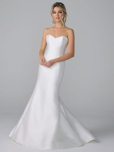 Satin Wedding Dresses Azul by Liancarlo Fall 2019 strapless satin wedding dress - Check out the latest wedding dresses from Azul by Liancarlo's Fall 2019 bridal collection. Diana Wedding Dress, Western Wedding Dresses, Luxury Wedding Dress, Wedding Dresses For Sale, Perfect Wedding Dress, Exotic Wedding, Dream Wedding, Bridal Mehndi Dresses, Bridal Wedding Dresses