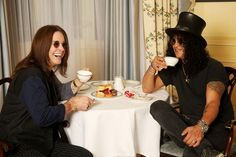 - Slash -  Ozzy Osbourne