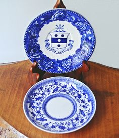 Your place to buy and sell all things handmade Fairbanks House, Bird On Branch, Stamp Making, Blue Roses, Star Designs, Wedgwood, Vintage Antiques, Derby, Decorative Plates