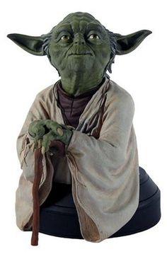 Star Wars Yoda Mini Bust. #Starwars #Statue #Figures #Gosstudio #gift . We recommend Gift Shop: http://www.zazzle.com/vintagestylestudio