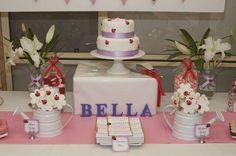 Bella's Ladybird Garden Party | CatchMyParty.com