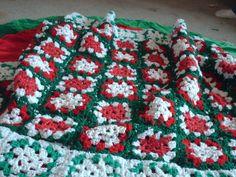 christmas afghan-crochet