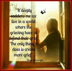 """It deeply saddens me"""