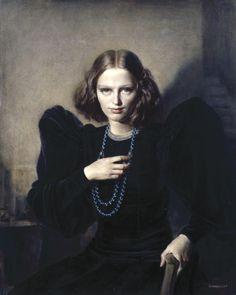 Gerald Leslie Brockhurst - Ophelia - 1937