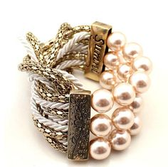 Use Pearl Beads to Create Cool Vintage Style Bracelets Many jewelry designers like to use pearl beads to create elegant jewelry as these bea...