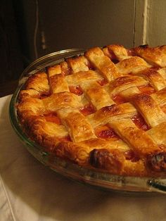 Best pie crust recipe!  And the peach and ginger filling is delicious too!