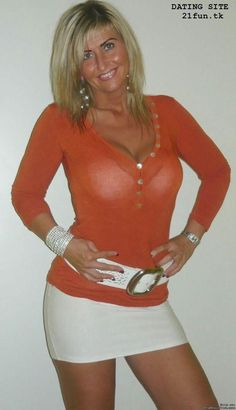 The hot blonde milf on patio