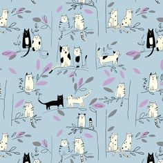 Posted Patterns - Lisa Buckridge Fabric