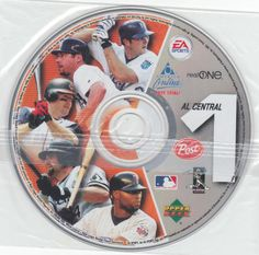 2003 Post Cereal Upper Deck CD-ROM, MIP, #1 AL Central cards for Bobby Higginson, Torii Hunter, Paul Konerko, Mike Sweeney, and Jim Thome. $4