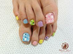 Pedicure Nail Design Ideas | photo credits http ameblo jp nail yumi nail