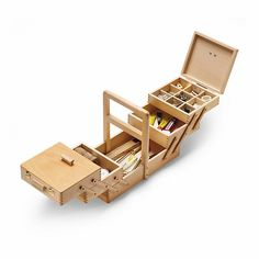 Sewing Box with 5 Drawers_40