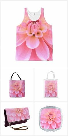 Color coordinated (pink dahlia)