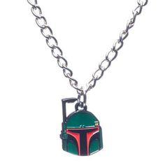 Star Wars Boba Fett Metal Necklace