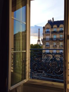 Room with a view in Paris