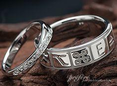 個性を尊重しあうデザインの結婚指輪のオーダーメイド