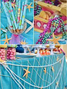 Party Printables | Party Ideas | Party Planning | Party Crafts | Party Recipes | BLOG Bird's Party: Under The Sea Birthday Party