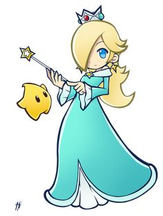 After making the Princess Daisy artwork, I felt the need to follow up with another piece related to the Nintendo princesses. I had this idea of making some sort of brooch portrait of Rosalina....