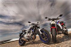 Honda CB650F x Yamaha MT-07 - Urbanas com estilo - Test drives - Andar de Moto