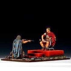 Gaius Iulius Caesar and Vercingetorix