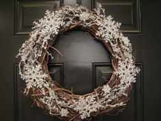 teach. craft. love.: Winter Wreath (basic directions)