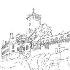 Image Result For Historical Castle Coloring Pages