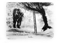 TREES IN ART • L'ARBRE DANS L'ART | David Lynch ( Am., born 1946), Two Figures Dance...