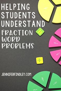 Help students understand fraction word problems with these tips and tricks! Multipliying and dividing fraction word problems are not easy but these tips can make them easier.