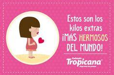 Las #mujeres tenemos muy claro que los kilos extras más hermosos del mundo es en el embarazo  #calzado #Tropicana