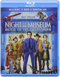 (Black) At The Museum: Battle Of The Smithsonian (Blu-ray/DVD)