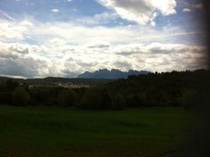 Montañas de Montserrat desde Sallles