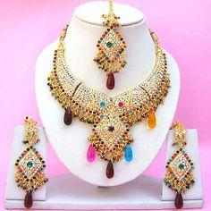 Diamond Bridal Jewelry Set NP-260