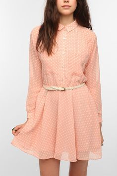 DV By Dolce Vita Agata Shirtdress - Urban Outfitters