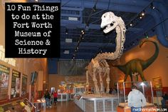 10 Fun Things to do at the Fort Worth Museum of Science & History ~ Fort Worth, TX - R We There Yet Mom? | Family Travel for Texas and beyond...