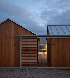 Danish summer house by Lenschow & Pihlmann is fragmented into house-shaped blocks