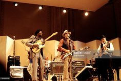 Albert Collins, Lonnie Mack and Roy Buchanan performing at a 'Guitar Greats'…